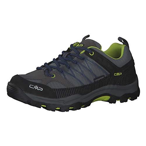 CMP Unisex Rigel Low Trekking Shoe Wp buty do chodzenia dla dzieci, Graffite Marine, 30 EU