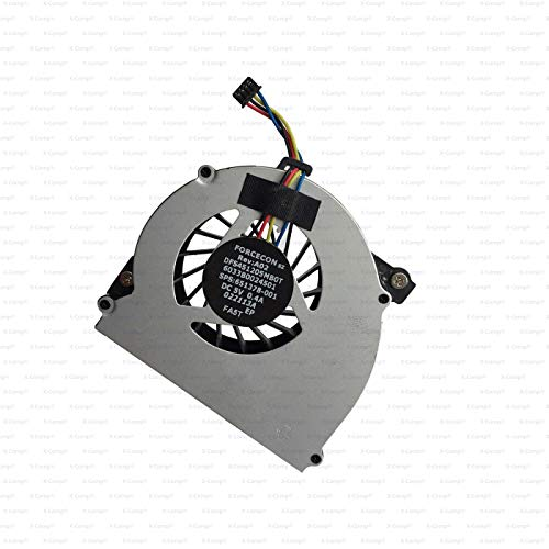 X-Comp MF60090V1-C130-S9A - Ventilador de CPU para HP Elitebook 2560 2560P 2570 2570P