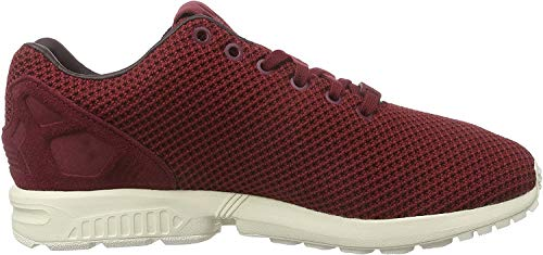 adidas Originals ZX Flux AF6310, Unisex-Erwachsene Low-Top Sneaker, Rot (Collegiate Burgundy/Night Red/Chalk White), EU 40 2/3