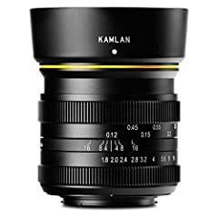 21mm F/1.8 Manual Focus Lens - Lens Hood - KamLan 1 Year Limited Warranty Brand: Kamlan Lens Series: None Color: Black Lens Type: Wide Angle