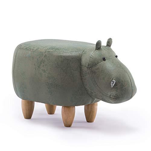 CJH stoffen kunst kinderstoel massief houten sofa kruk schoen bank wisselbank