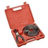 Herramientas de reparación de automóviles 14 anillos de pistón herramienta de anillo compresor alicates abrazadera extractor del motor Cilindro instalador trinquete Alicates