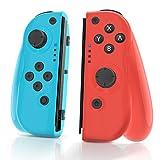 MAXKU Wireless Controller für Nintendo Switch, 2er-Set Links Rechts Replacement Joystick für Joy...