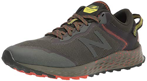 New Balance Arishi V1 Fresh Foam, Zapatillas de Trail Running Hombre, Dark Blaze Black, 40.5 EU
