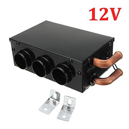 Read About blue--net 12V/24V 3 Ports Universal Car Truck Fan Heater, Portable car Windscreen Demiste...