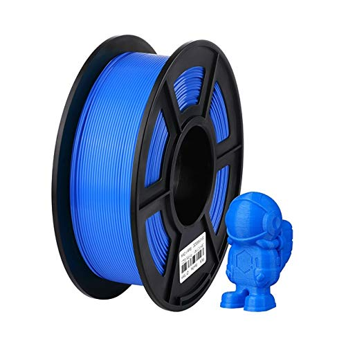 WANGZHI. 3D-Drucker Filament PLA 1.75mm Plastik for I3 Mega S 1KG 6 Farben Optional Gummiverbrauchs Material for Ender 3 Pro (Color : Blau, Size : Kostenlos)