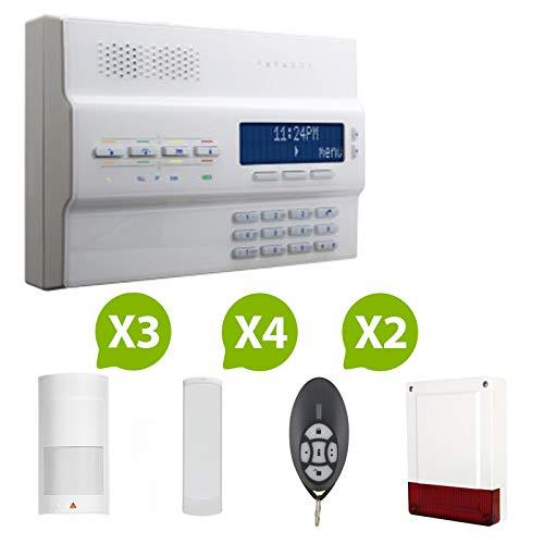 Paradox - Alarme Maison Sans Fil Magellan MG-6250 RTC+gsm - Kit 6
