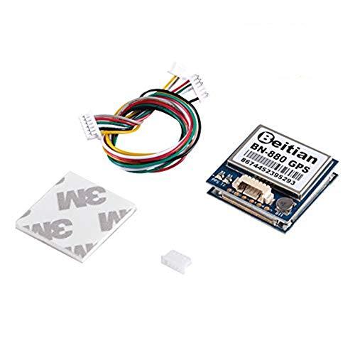 D-FLIFE BN-880 GPS Modul U8 mit Blitz HMC5883 Kompass + GPS Aktive Antenne Unterstützung GPS Glonass Beidou Auto Navigation für Arduino Raspberry Pi Aircraft Pixhawk APM Flight Controller