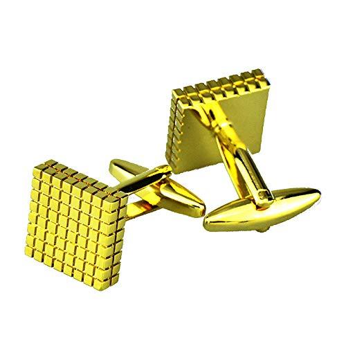 Daesar Hochzeit Manschettenknopf Gold Quadrat Edelstahl Hochzeit Manschettenknöpfe Herren Geschäft Geschenk