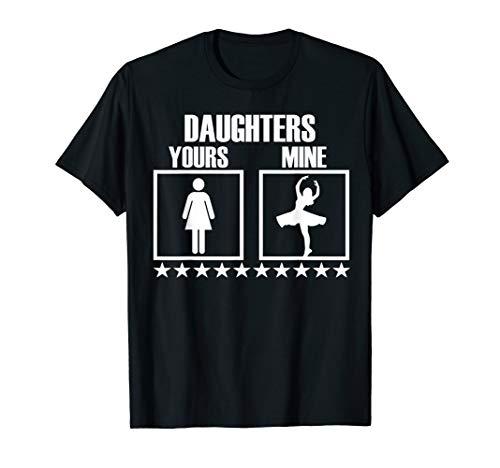 Dance Mom and Dad Shirt - Parents of Ballerina Dancer