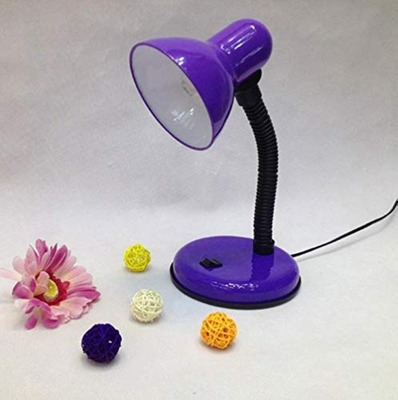 Led Unterbauleuchte Lichtleiste Deckenlampekreative Moderne Energiesparlampen, Schlafzimmer-Nachttischlampe, Flexibler Schwanenhals, Led-Augenschutzlampe (Farbe  Lila)