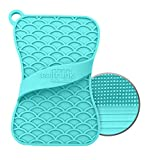 Teal Trunk Silicone Sponge and Scrubber - The Hygienic Sponge for Your Home - Odor, Mildew and Stain Resistant - Easy to Use, BPA Free, Reusable Multipurpose Household Dish Scrubber, Aqua - 1 Pack