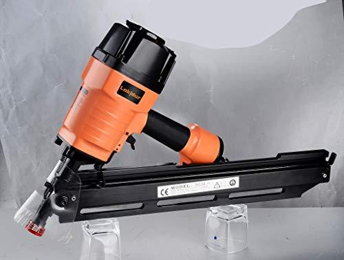 """Lakidur Framing Nailer, 2"""" up to 3-1/2"""" Paper Collated Framing Nails.113 - .13, 34 Degree Magazine, Pneumatic power-operated nailing guns (9034c tool)"""