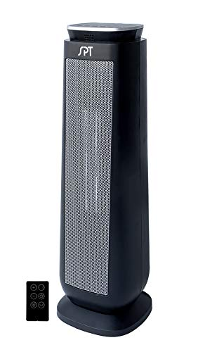 SH-1515: Tower Ceramic Heater with Timer and Remote