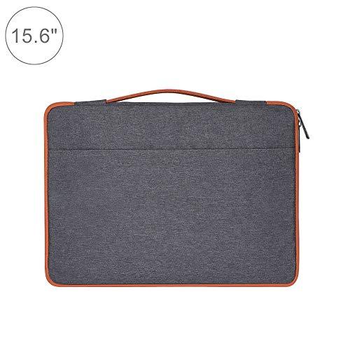 Laptop-Taschen Rucksack Beiläufige Art und Weise Polyester + Nylon Laptop-Tasche Aktentasche Notebook Cover Kasten, for Macbook, Samsung, Lenovo, Xiaomi, Sony, Dell, Chuwi, ASUS, HP 15,6 Zoll (Schwarz