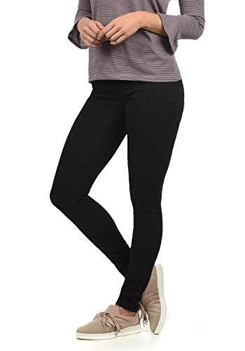 ONLY Lara Super Stretch Damen Jeans Denim Hose Röhrenjeans Aus Stretch-Material Skinny Fit, Farbe:Black, Größe:XS/ L30