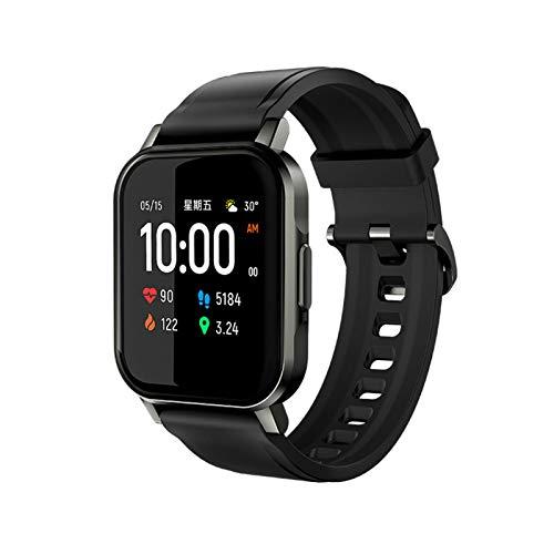 Reloj Inteligente LS02 2 Pantalla LCD de 1,4 Pulgadas BT 5.0 12 Modo Deportivo IP68 Impermeable 20 Días Reloj en Espera Pulsera de Fitness con Frecuencia Cardíaca