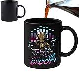 DJ Groot Guardians of the Galaxy - Becher Tasse mit Farbwechsel-Effekt – Perfekt...