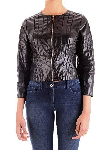 Silvian Heach Donjie Nona Abrigo, Negro (Black No), Medium (Talla del fabricante: Taglia Produttore M) para Mujer