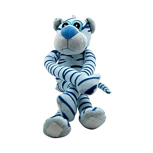 Peluche PANTHERE SONORE Bleue 38 CM