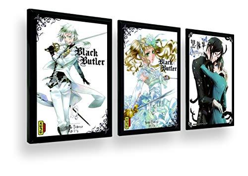 Quadro Decor Coleção Kuroshitsuji.Full. Anime Black Butler.