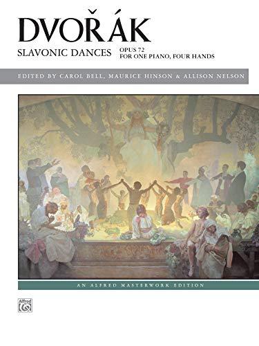 Dvorák - Slavonic Dances, Op. 72 (Alfred Masterwork Edition)