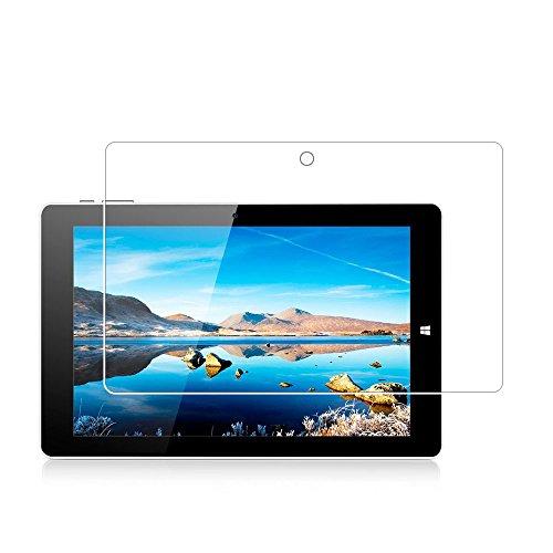 Displayschutzfolie für Chuwi Hi10 Pro, Härtegrad 9H, gehärtetes Glas, Displayschutzfolie für Chuwi Hi10 Pro/HiBook 10.1/HiBook Pro 10.1 mit Anti-Fingerabdruck, blasenfrei, kristallklar