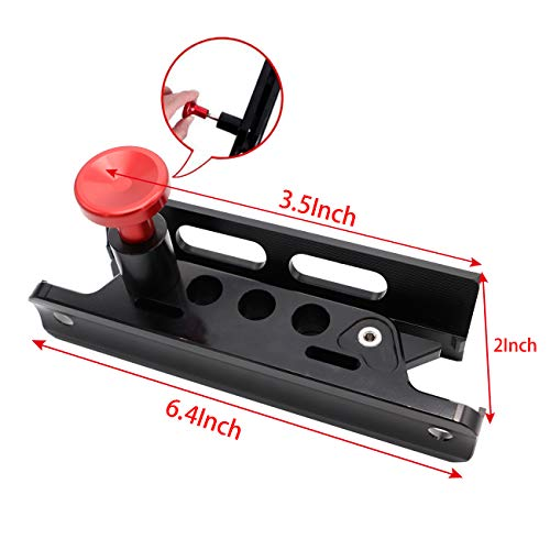 MFC Adjustable Roll Bar Mount Bottle Holder Fit for Jeep Wrangler TJ JK JKU JL UTV Polaris RZR Ranger,Aluminum
