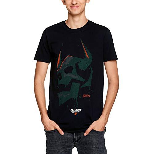 Call of Duty Herren T-Shirt Ruin Icon Black Ops III Baumwolle schwarz - XXL