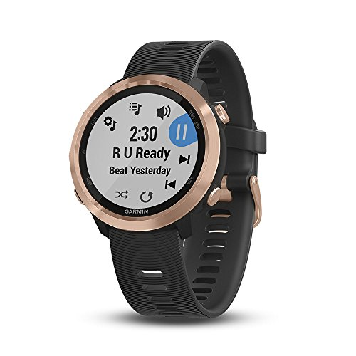 Affordable Garmin Forerunner 645 Music, GPS Running Watch With Garmin Pay Contactless Payments, Wris...
