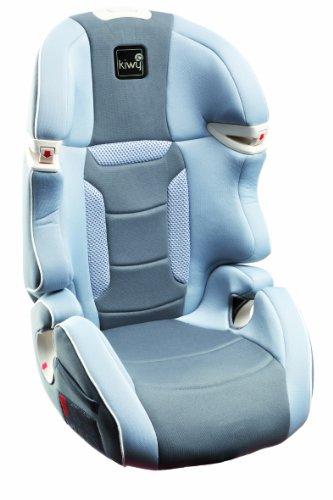 Kiwy 13023KW04B Kinderautositz Gruppe 2/3, Universal 15-36 kg, ECE R44/04, stone grau