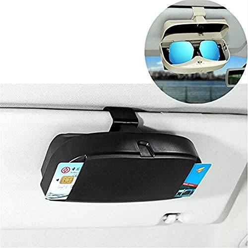 ZHAOHAOSC Soporte para Gafas de Sol para Coche, Caja de Almacenamiento para Gafas, para Seat Leon Ibiza Altea MG 3 ZR Accesorios, Gris