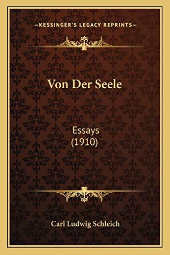 Von Der Seele: Essays (1910)