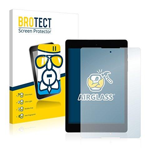 BROTECT Panzerglas Schutzfolie kompatibel mit HTC Nexus 9 - AirGlass, 9H Festigkeit, Anti-Fingerprint, HD-Clear