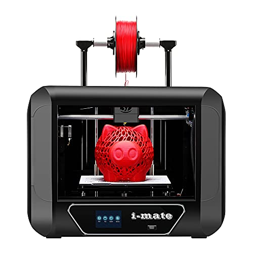 QIDI TECH i-Mate 3D Printer,With Upgrade Extruder and Professional Software,Print with PLA,PETG, TPU, Print Size 260x200x200mm