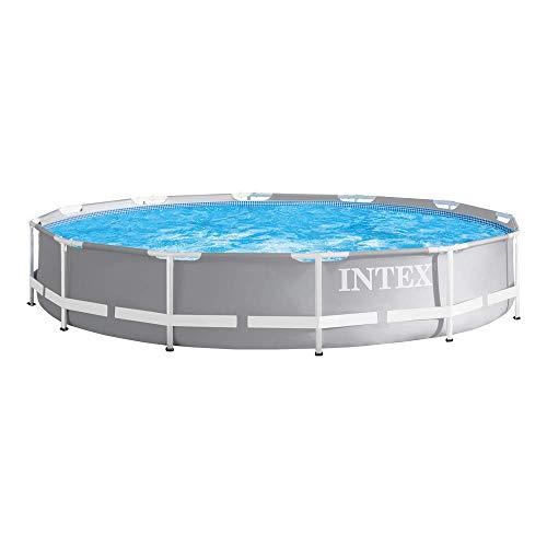 Intex 26710NP Piscina desmontable redonda, con depuradora, 366 x 76 cm
