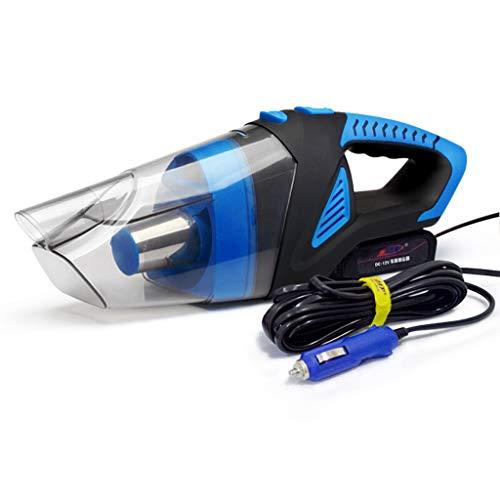 TONG YUE SHOP Aspirateur de Voiture Aspirateur portatif à câble à Grande Aspiration, 120 W, Grande Puissance, Humide et Sec - Bleu