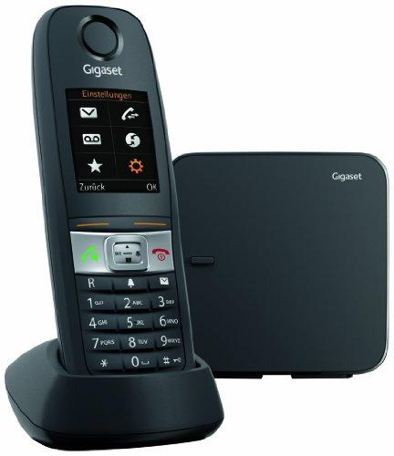 Gigaset E630 Telefono Cordless, Resistente ad Urti, Spruzzi e Polvere, Vibrazione, Nero [Italia]
