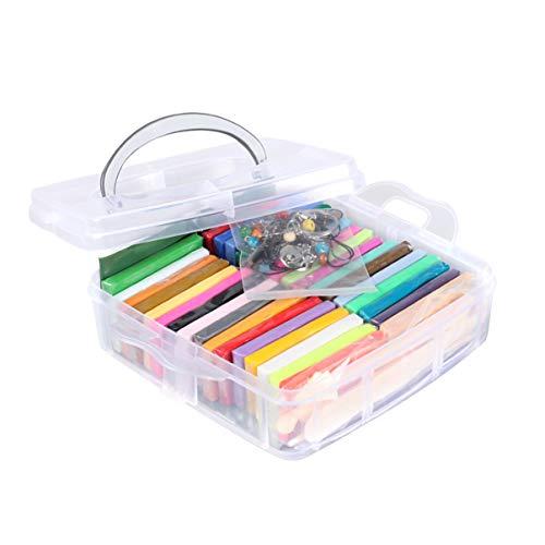 HEALLILY Kit Arcilla Polimérica 32 Colores Manualidades
