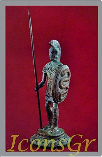 IconsGr Antike griechische Bronze Museum Statue Replica der mazedonischen Armee (1153)