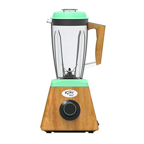 KoMo KoMoMix+ Hochleistungsmixer grün (1.400 Watt, 30.000 Umdrehungen/Min., fair & nachhaltig hergestellt)