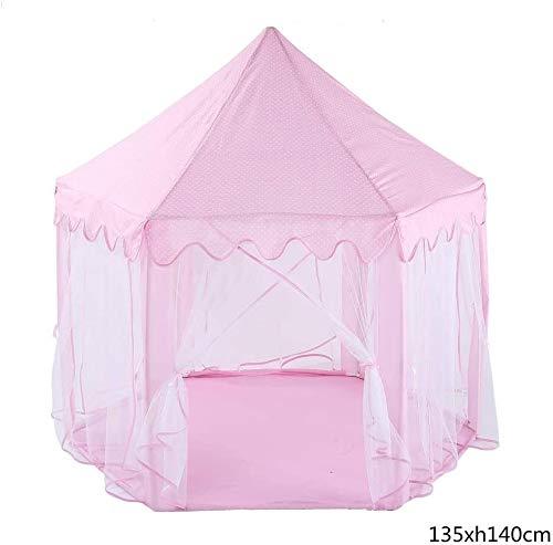 Kinderspielburg Childens Spiel-Zelt Hexagonal Mesh-Spielzimmer Moskitonetz-Baby-Spielzeug Haus for Kinder Kinder-Spiel-Zelt for Innen und Außen Garten Verwenden Spielhaus Spielzeug for Indoor und Outd