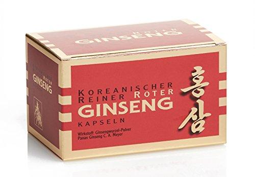 (Arzneimittel) Koreanischer Reiner Roter Ginseng - 200 Wurzelpulver Kapseln