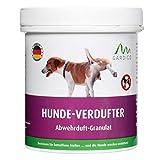 Gardigo Hundeabwehr Granulat für Haus, Garten, Garage und Grundstück | Hundeschreck mit Duftstoff | Alternative zu Hundespray oder Tierabwehr mit Ultraschall