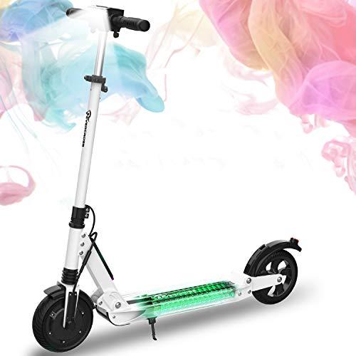 MARKBOARD Elektroscooter E-Scooter Elektro Scooter Klappbar Elektroroller Erwachsene Bis 30 km/h E Roller Mit Vorderen und Hinteren Rückleuchten | 7.5Ah Akku | 350 Watt Motor Cityroller