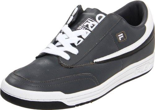 Fila Original Tennis-Sneaker für Herren, Grau (Castlerock/Weiß/Schwarz), 37.5 EU