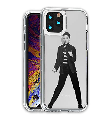 Elvis Presley Hybrid case Compatible with iPhone 12 Pro Max Mini 11 XR X 7 8 Plus SE Samsung Galaxy S20 S10 S9 S10e Plus Note 9 10 20 Ultra SN (Galaxy Note 9)
