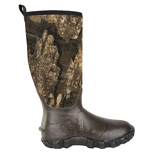 Drake Waterfowl Herren Knee High Mudder 2.0 Gummistiefel, Realtree Timber, 9