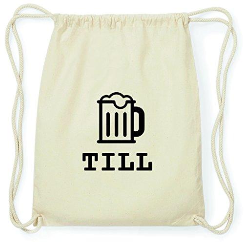 JOllify Turnbeutel - Happy Birthday - für Till - Bier Gruß