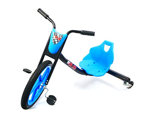Bibee Drift Rider 360 Triciclo, Niño, Azul/Negro